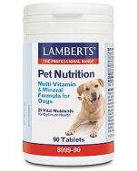 Lamberts Pet Nutrition Multivitamin & Mineral for Dogs 90 tablets