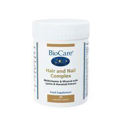 Hair & Nail Complex 90 Veg Caps Biocare