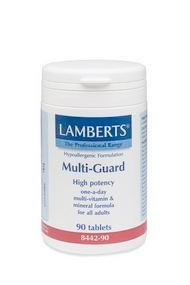 Multi Guard High Potency Multi Vitamin One A Day 90 Tablets Lamberts