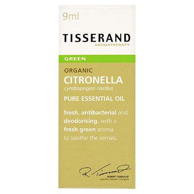 Tisserand Citronella Essential Oil Organic 9ml