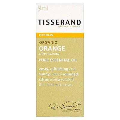 Tisserand Orange Essential Oil Organic 9ml