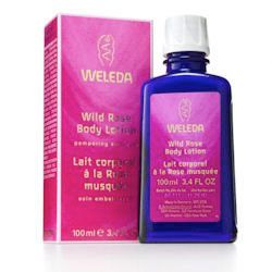 Wild Rose Pampering Body Lotion 200ml Weleda