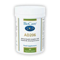 Ad 206 (Adrenal Support) 60 Veg Caps