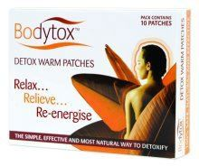 Bodytox Detox Warm Patches (6 Pack)