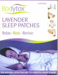 Bodytox Lavender Sleep Patches (6 Pack)