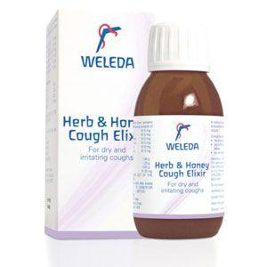 Cough Herb & Honey Elixir 100ml Weleda