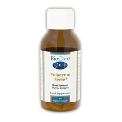 Polyzyme Forte (high potency plant enzymes) 30 veg caps