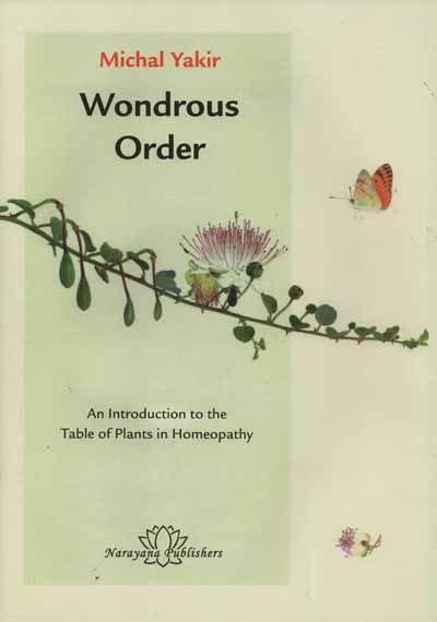 Wondrous Order Intro.Table of Plants