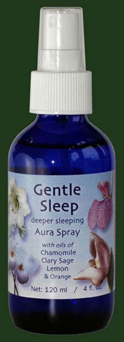 Gentle Sleep (Yellow) 100ml Aura Spray Orchid Essence