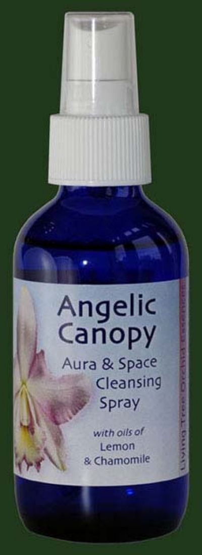 Angelic Canopy (Blue) 100ml Aura Spray Orchid Essence