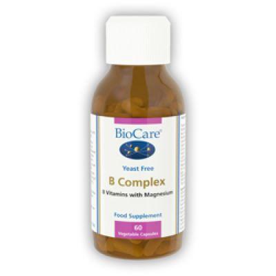 Vitamin B Complex, (60 Vegicaps) (Biocare)
