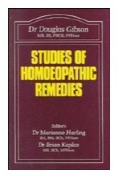 Studies Of Homoeopathic Remedies