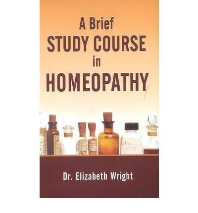 Brief Study Course Homeopathy