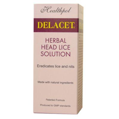 Delacet Anti Head Lice & Nits 100ml