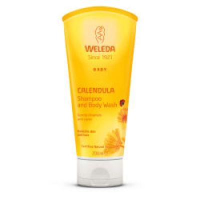 Calendula Baby Shampoo & Body Wash 200ml Weleda