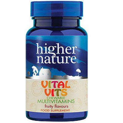 Vital Vits Chewable Multivitamin for kids 30 fruity tablets