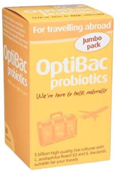 Optibac for Travelling Abroad 60 capsules