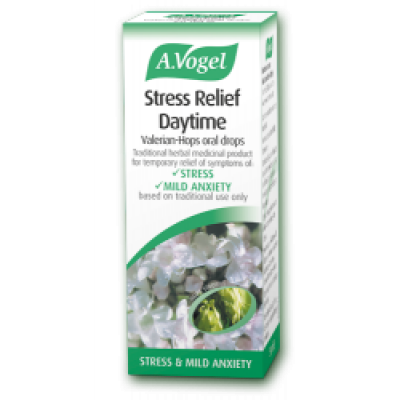 Stress Relief Daytime Valerian Hops 50ml Bioforce