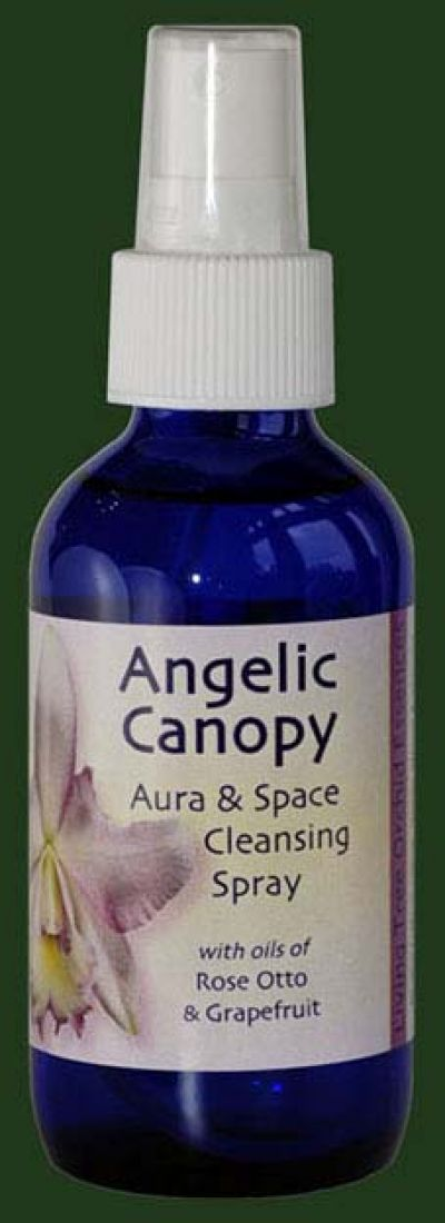 Angelic Canopy (Yellow) 100ml Aura Spray Orchid Essence