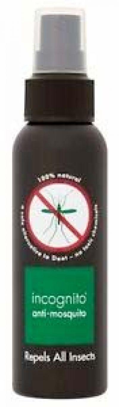 Incognito Anti Mosquito Spray 100ml 100% Natural