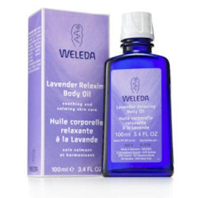 Lavender Relaxing Body Oil 100ml Weleda