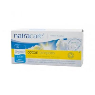 Natracare Applicator Tampon Super 16