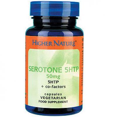 Serotone 5Htp 50mg 30 Higher Nature