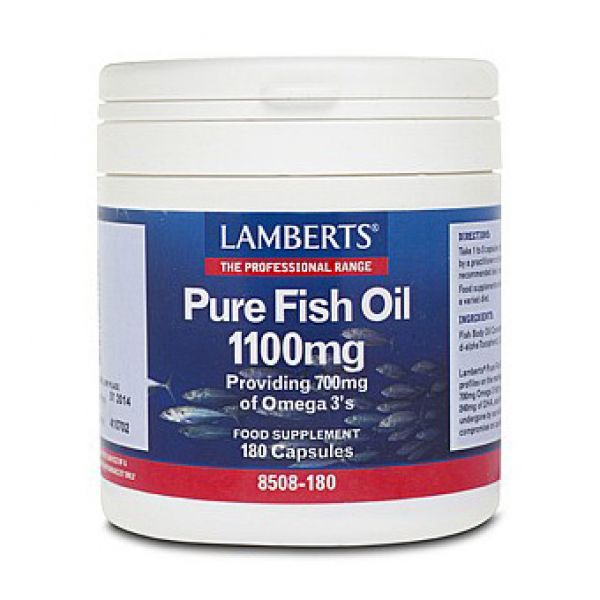Helios homeopathy pure fish oil 1100mg 180 capsules lamberts for Fish oil on face
