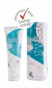 Yes Water Based Personal lubricant 50ml NEW PACKAGING
