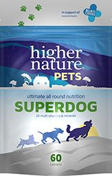 Higher Nature Pets Superdog 60 tablets