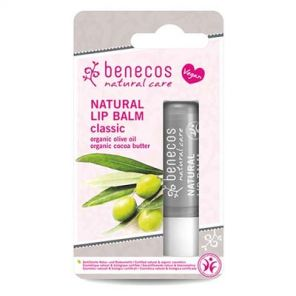 Benecos Natural Lipbalm Classic with Olive Oil & Cocoa Butter 4.8g Vegan
