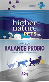 Higher Nature Pets Balance Probio Powder  82g pet probiotic