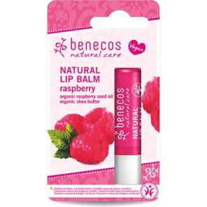 Benecos Natural Lipbalm with Raspberry Seed Oil & Shea Butter 4.8g Vegan