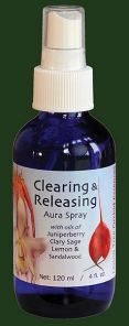 Clearing And Releasing (Blue) 100ml Aura Spray Orchid Essence