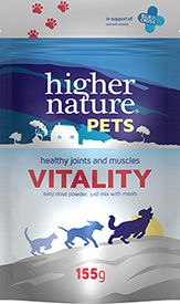 Higher Nature Pets Vitality powder 155g