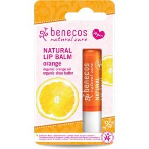 Benecos Natural Lipbalm with Orange Oil & Shea Butter 4.8g Vegan