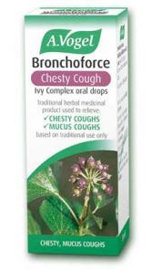 Bronchoforce Chesty cough 50ml Bioforce (licenced Ivy Thyme Complex)