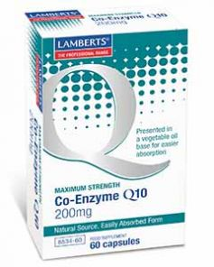 Co Enzyme Q10 200mg 60 Capsules Lamberts