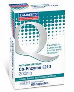 Co Enzyme Q10 200mg 60 Capsules Lamberts