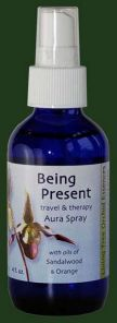 Being Present (Blue) 100ml Aura Spray Orchid Essence