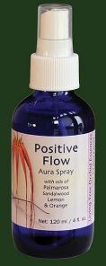 Positive Flow (Yellow) 100ml Aura Spray Orchid Essence