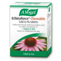 Echinaforce Chewable Cold & Flu Tablets 80 Bioforce Age From 12