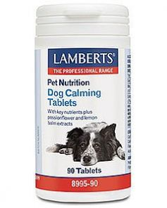 Lamberts Pet Nutrition Dog Calming tablets 90