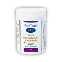 Adult Multivitamins & Minerals 90 Vegicaps Biocare