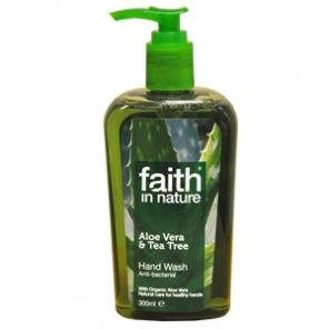 Faith In Nature Aloe & Tea Tree Handwash Antibacterial 300ml