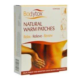 Bodytox Detox Warm Patches (14 Pack)