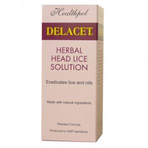 Delacet Anti Head Lice & Nits 100ml