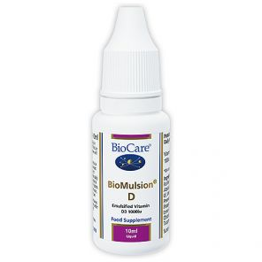 Biocare BioMulsion D 10ml 1000iu per drop