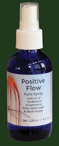 Positive Flow (Blue) 100ml Aura Spray Orchid Essence