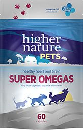 Higher Nature Pets Super Omegas 60 capsules